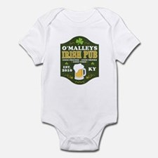 Irish Pub Personalized Infant Bodysuit
