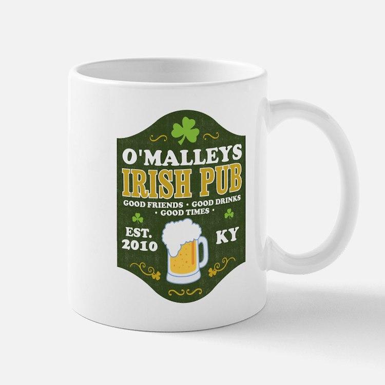 Irish Pub Personalized Mug
