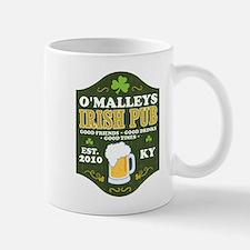 Irish Pub Personalized Small Small Mug