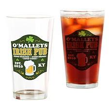 Irish Pub Personalized Drinking Glass
