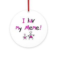 Meme Ornament (Round)