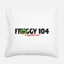FROGGY 104 Square Canvas Pillow