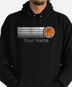 Basketball Personalized Hoodie (dark)