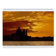 Unique Venice Wall Calendar