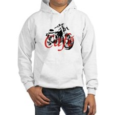 Cafe Racer Kawasaki Hoodie