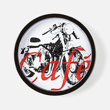 Cafe Racer Kawasaki Wall Clock