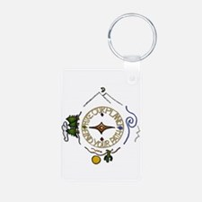 Hiker's Soul Compass Keychains