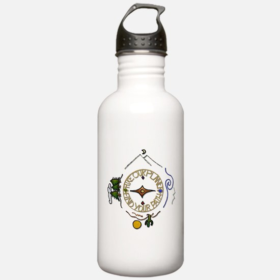Hiker's Soul Compass Water Bottle