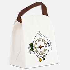 Hiker's Soul Compass Canvas Lunch Bag