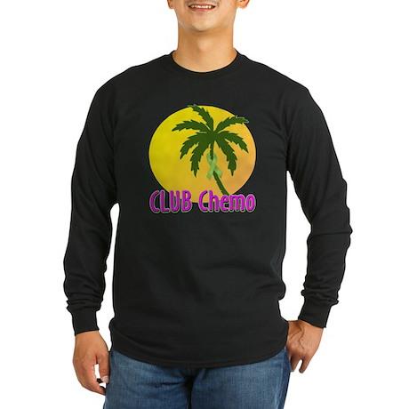 Club Chemo-Lymphoma Long Sleeve Dark T-Shirt