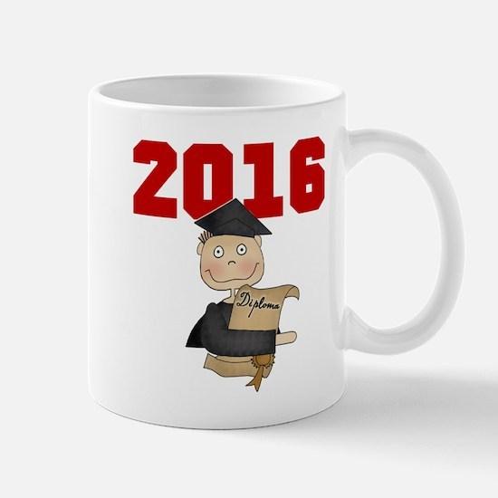 Red Boy Grad 2016 Mug