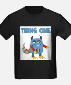 Unique Thing 1 and thing 2 T