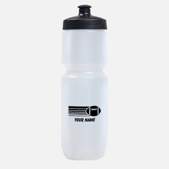 Football Personalized Sports Bottle