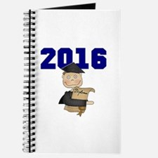 Blue Male Grad 2016 Journal