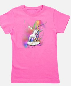 Cute Unicorns Girl's Tee