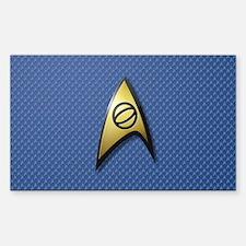 Star Trek: TOS Science Decal