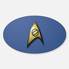 Star Trek: TOS Science Sticker (Oval)
