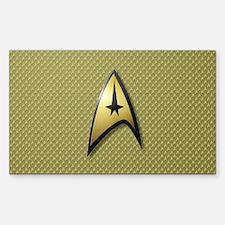 Star Trek: TOS Command Decal
