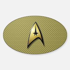 Star Trek: TOS Command Sticker (Oval)