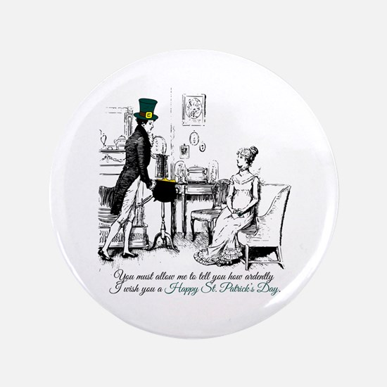 Ardently St. Patrick's Day Button