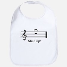Unique Shut up Bib