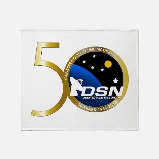NASA's 50th Logo Throw Blanket