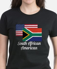 American And South African Flag T-Shirt