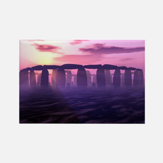 Stonehenge Rectangle Magnet