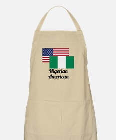 American And Nigerian Flag Apron