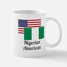 American And Nigerian Flag Mugs
