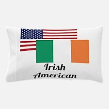 American And Irish Flag Pillow Case