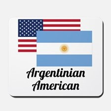 American And Argentinian Flag Mousepad