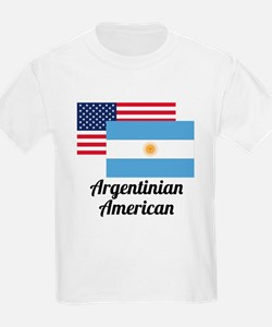 American And Argentinian Flag T-Shirt