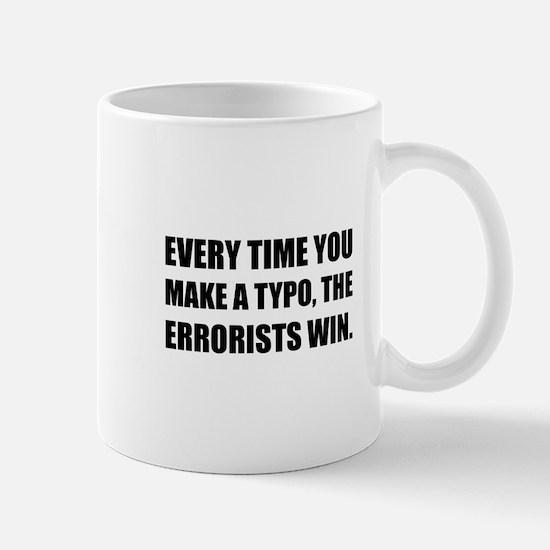 Typo Errorists 2 Mugs