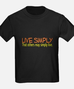 Live Simply -- That others ma T