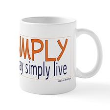 Live Simply -- That others ma Mug