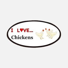 I Love Chickens Patch