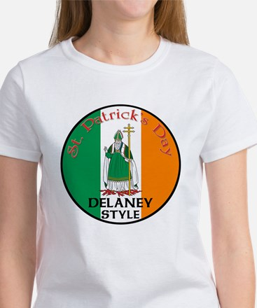 Delaney, St. Patrick's Day Women's T-Shirt