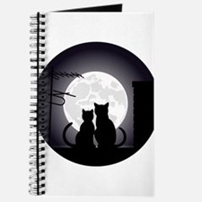 Two cats one moon Journal