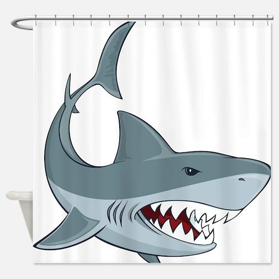 Shark week Shower Curtain