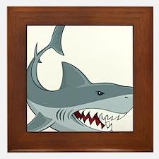 Shark week Framed Tile