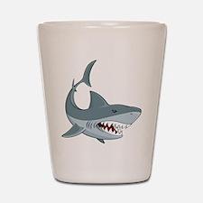 Shark week Shot Glass