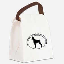 GERMAN WIREHAIRED POINTER Canvas Lunch Bag