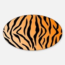 Faux Tiger Print Decal