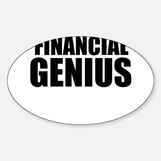 Financial Genius Decal