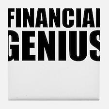 Financial Genius Tile Coaster
