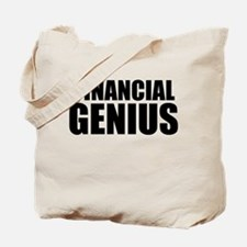 Financial Genius Tote Bag