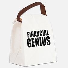 Financial Genius Canvas Lunch Bag