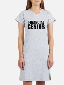 Financial Genius Women's Nightshirt