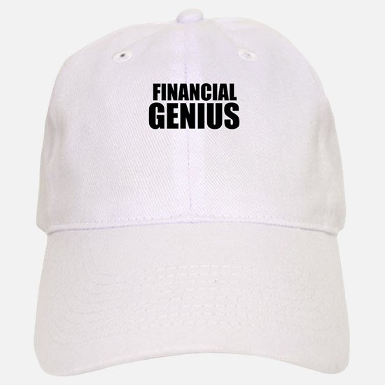 Financial Genius Baseball Baseball Baseball Cap